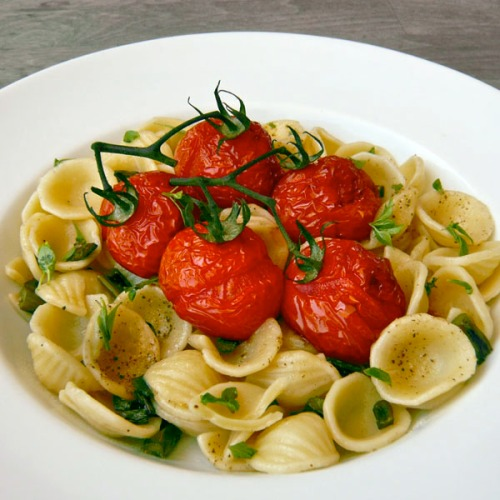 Grilled Tomato Linguine Recipes — Dishmaps